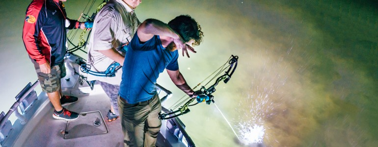 Nighttime Bowfishing  in Tampa, FL
