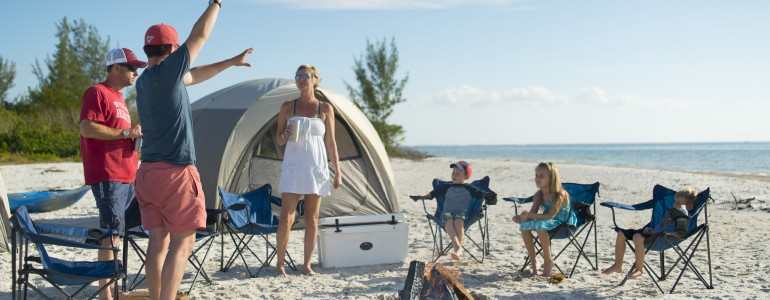 Guided Island Camping Adventure in Everglades City, FL