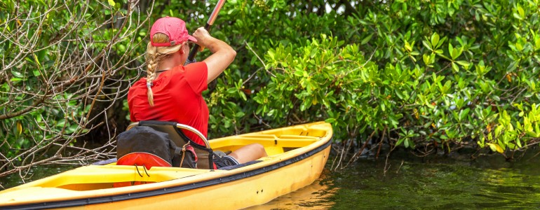 Charlotte Harbor Kayak Tour in Boca Grande, FL