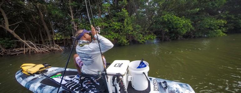Kayak Fishing in Tallahassee, FL