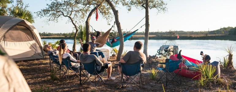 Guided Island Camping in Cedar Key, FL